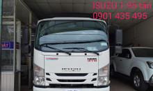 Isuzu 1.950kg, KM 50% thuế, máy lạnh, thùng bạt 4.5m, đầu vuông