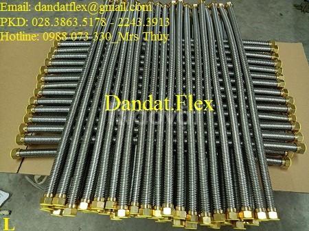 Ống cấp nước inox 304 phi 21, dây cấp nước, dây dẫn nước inox