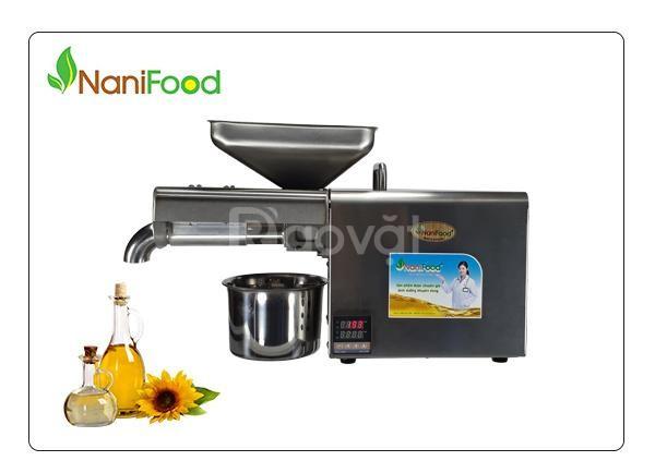 Máy ép dầu thực vật nanifood NNF801