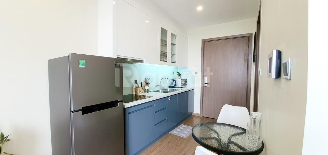 Cần cho thuê căn hộ studio 5* Vinhomes Green Bay, chỉ xách vali vào ở giá 9 triệu