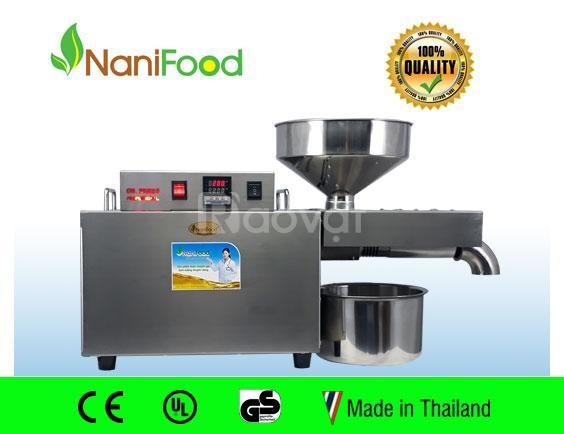 Máy ép dầu bơ kinh doanh nanifood NNF808