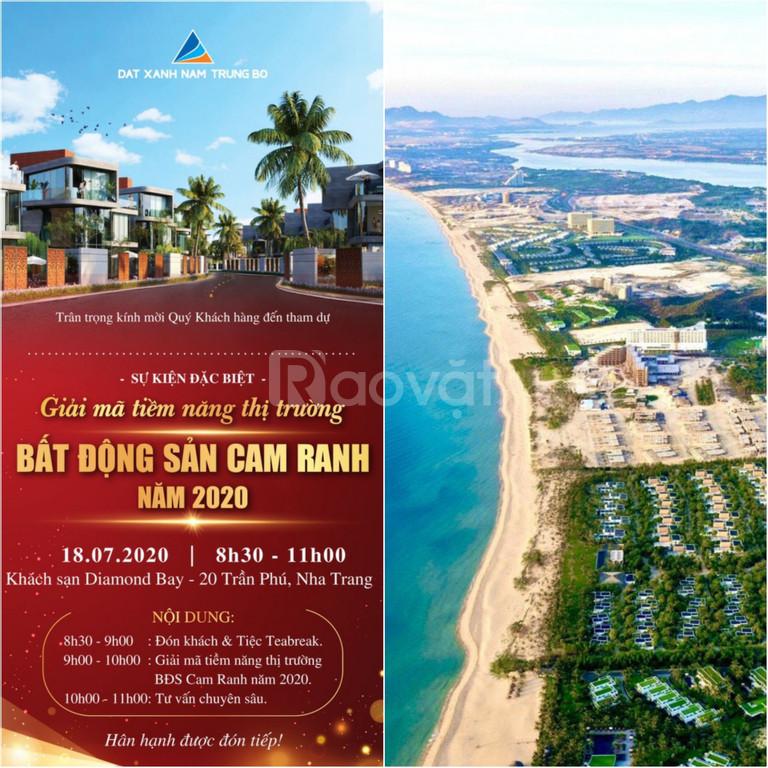 Mở bán chính thức quỹ đất đẹp ven biển Bãi Dài sổ đỏ lâu dài chỉ 999tr