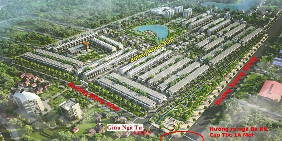 Đất nền biệt thự  giá chỉ từ 11tr/m2 ngay trung tâm tp Bắc Giang