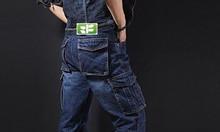 Cần bán Quần công nhân vải jean cho thợ điện, thợ hàn tại Bình Dương