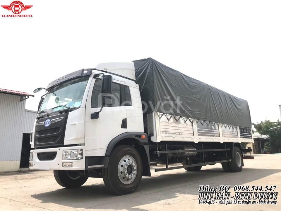 Xe tải 8 tấn thùng dài 8m| faw 8 tấn trả góp bình dương
