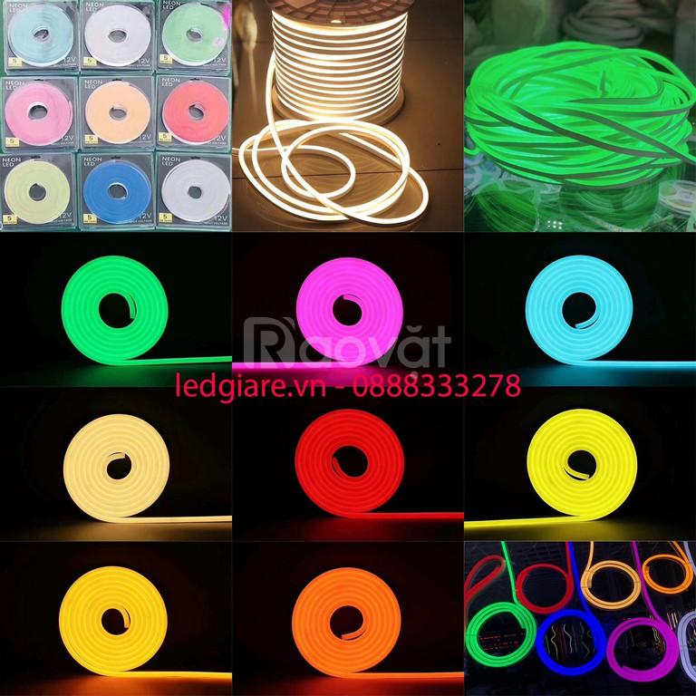 Đèn led dây flex neon sign 12v 24v 220v (ảnh 1)