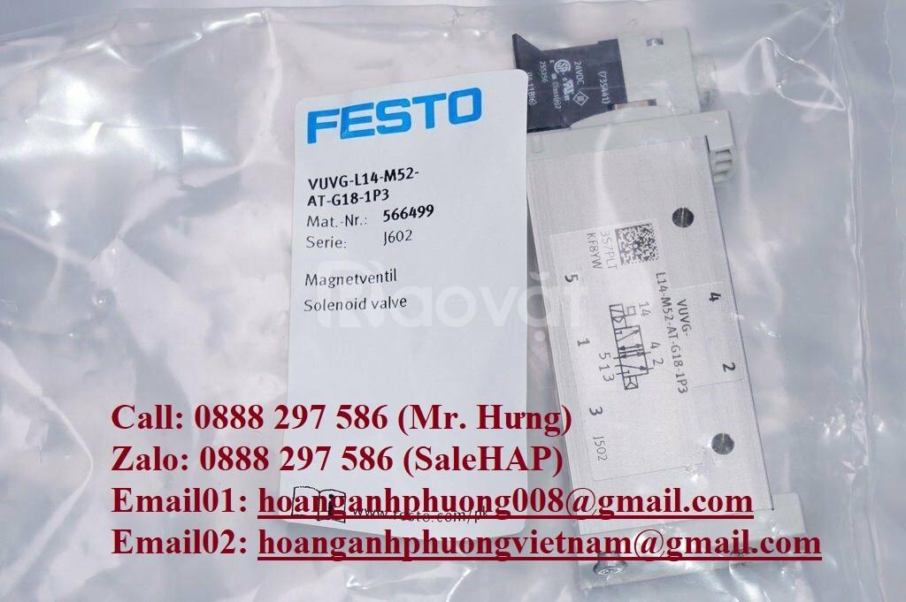 Van điện từ Festo VUVS-L20-B52-D-G18-F7 - 575251 (ảnh 3)