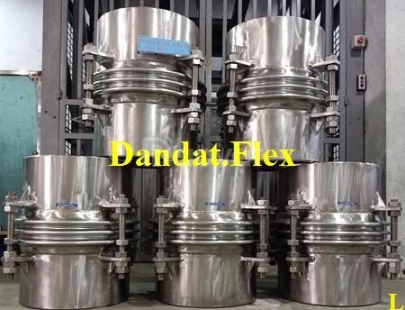 Gia công Ống đàn hồi DN457x0.6m, Khớp giãn nở nhiệt inox, bù giãn nở