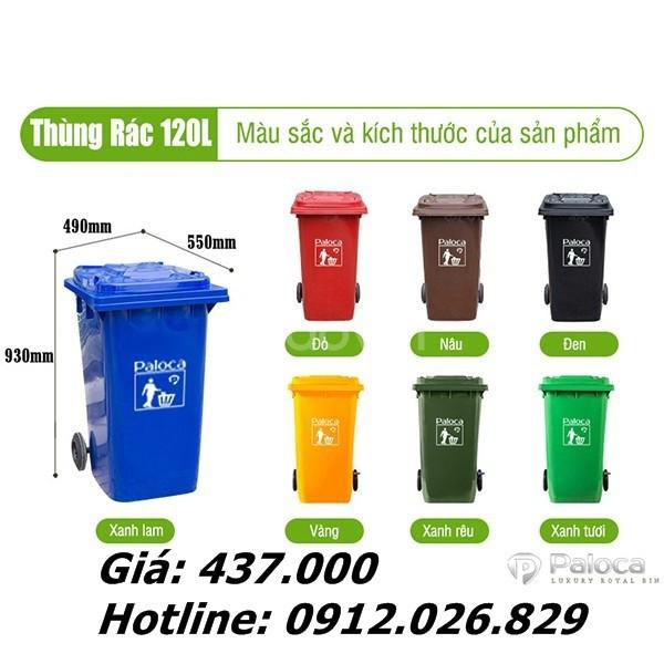 Tổng kho thùng rác nhựa Hà Nội giá rẻ