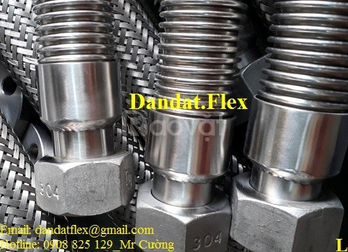 Khớp nối inox, ống nối inox, ống nối mềm inox, khớp giảm chấn inox