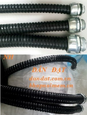 Sỉ ống thép mềm luồn dây điện, ống ruột gà, ống xoắn ruột gà inox (ảnh 6)
