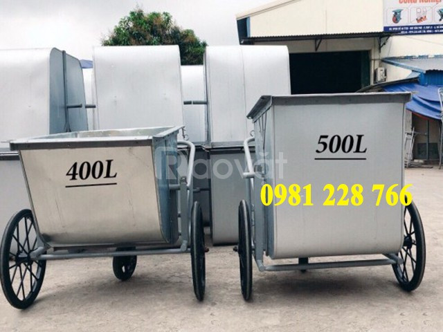 Xe đẩy rác tay - sản phẩm chất lượng, giá rẻ