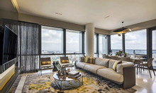 Penthouse 380m view sông Hồng tại Sunshine City