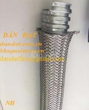 Sỉ ống thép mềm luồn dây điện, ống ruột gà, ống xoắn ruột gà inox (ảnh 7)