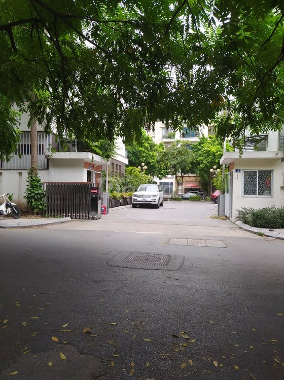Bán nhà Nguyễn Chí Thanh Ba Đình 90m MT 6m khu biệt lập phân lô VIP.