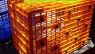 Sọt nhựa lớn kéo hàng, rổ nhựa lớn kéo hàng, sọt nhựa công nghiệp cỡ l (ảnh 5)
