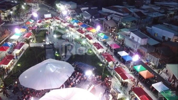 Bán gấp lô đất nền tại khu phố chợ Cần Đước, thuận tiện kinh doanh