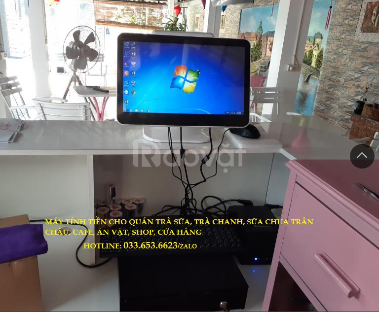 Trọn bộ máy tính tiền pos cho quán Cafe tại Nha Trang