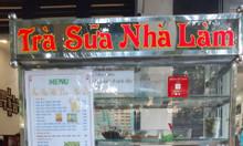 Trà sữa nhà làm tại khu dân cư Lý Chiêu Hoàng, HCM, đậm đà