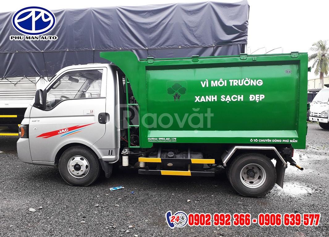 Xe tải ép rác x150 3.5 khối JAC thanh lý