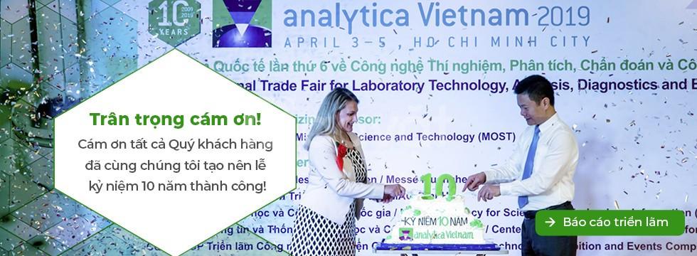 Triển lãm phân tích, thí nghiệm & công nghệ sinh học analytica Vietnam