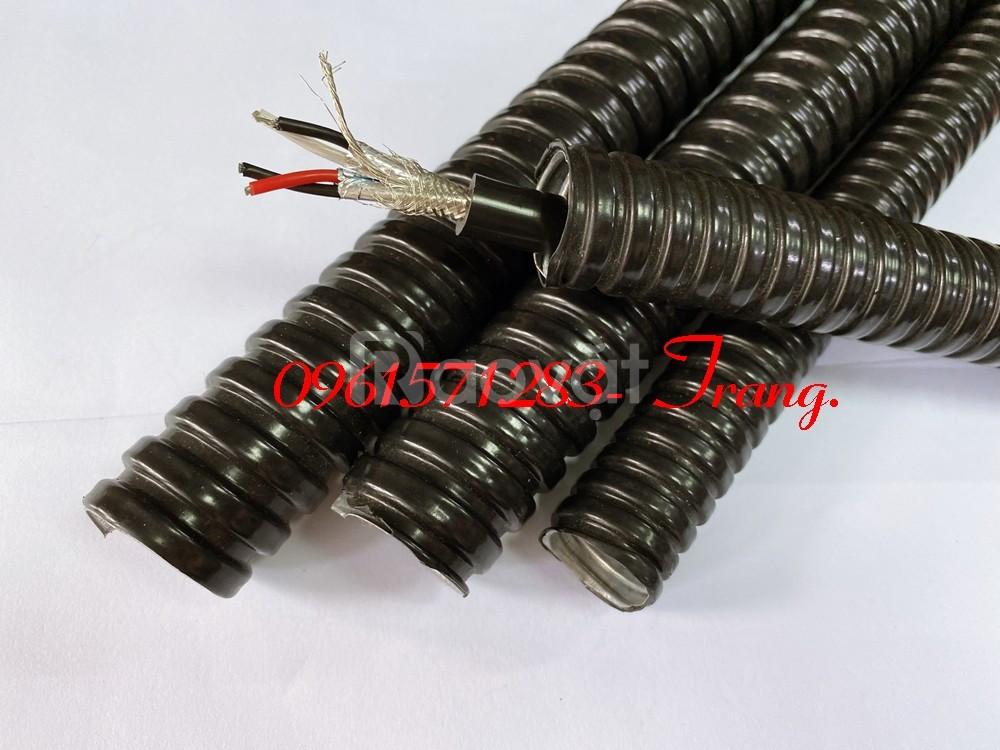 Ống ruột gà lõi thép bọc nhựa pvc, ống độ bền cao giá tốt
