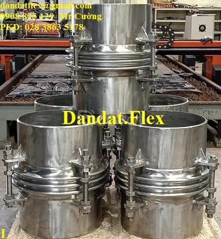 Bù giãn nở nhiệt inox, khớp nối giãn nở nhiệt DN457x0.6m, giãn nở inox (ảnh 3)