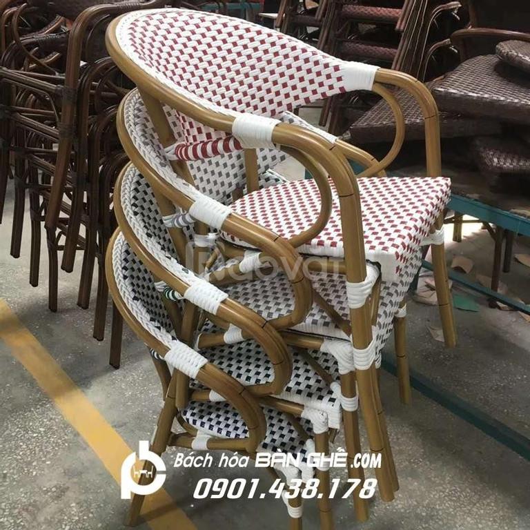 Bàn ghế cafe ngoài trời, Bàn ghế cafe sân vườn giá rẻ