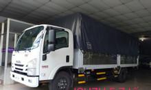 isuzu 5.7 tấn, thùng Bạt dài 5.7m, KM 50% thuế trước bạ, máy lạnh