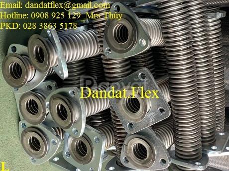 Ống xăng dầu phi 42, ống nối mềm xăng dầu phi 49, ống mềm inox 304