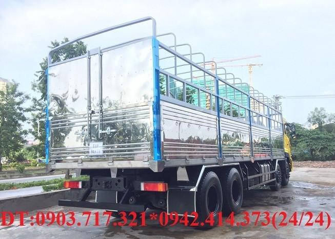 Xe tải Dongfeng Hoàng Huy 4 chân 17T95 Euro 5