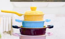 Bộ nồi kháng khuẩn ngũ hành may mắn - Happy Home Pro