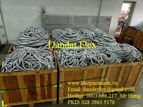 Báo giá ống thép mềm luồn dây điện, ống nối mềm inox, ống chống rung  (ảnh 1)