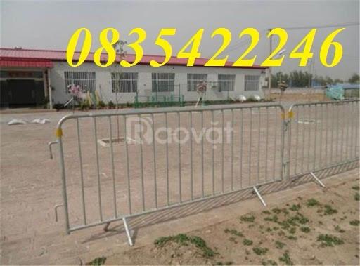 Hàng rào di động, hàng rào di động thép không ghỉ