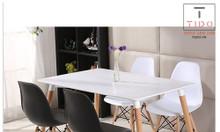 Ghế nhựa Eames chân gỗ-TI_GE01