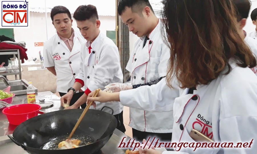 Xét tuyển Trung cấp Nấu ăn học nghề đầu bếp chuyên nghiệp