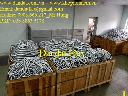 Báo giá ống thép mềm luồn dây điện, ống nối mềm inox, ống chống rung  (ảnh 3)