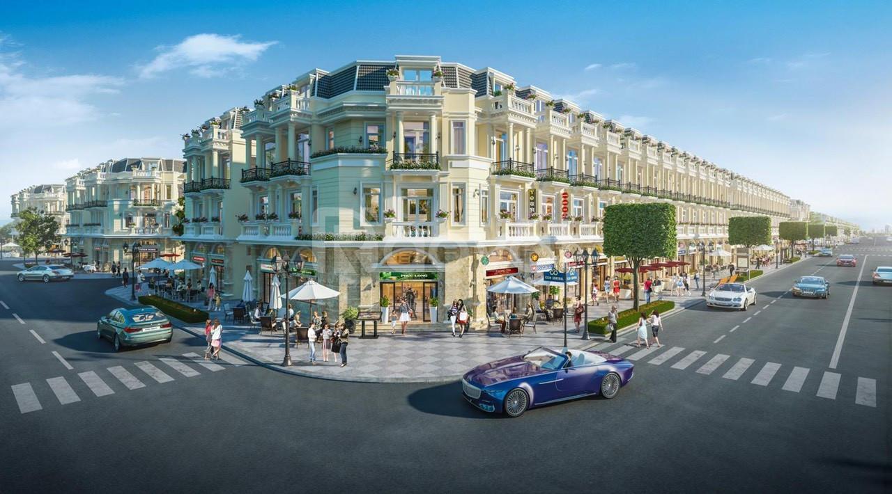 Shop house icon central 4 mặt tiền, DTSD hơn 200m2, giá từ 4,3 tỷ/căn