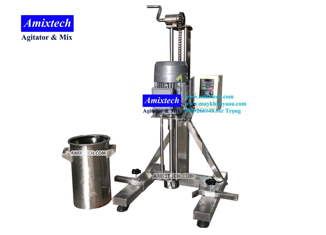 Máy nhũ hóa bằng inox 1-5 lít (ảnh 1)