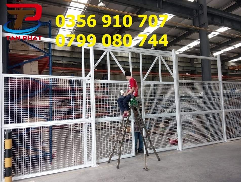 Hàng rào lưới thép, hàng rào chắn sóng, hàng rào công ty