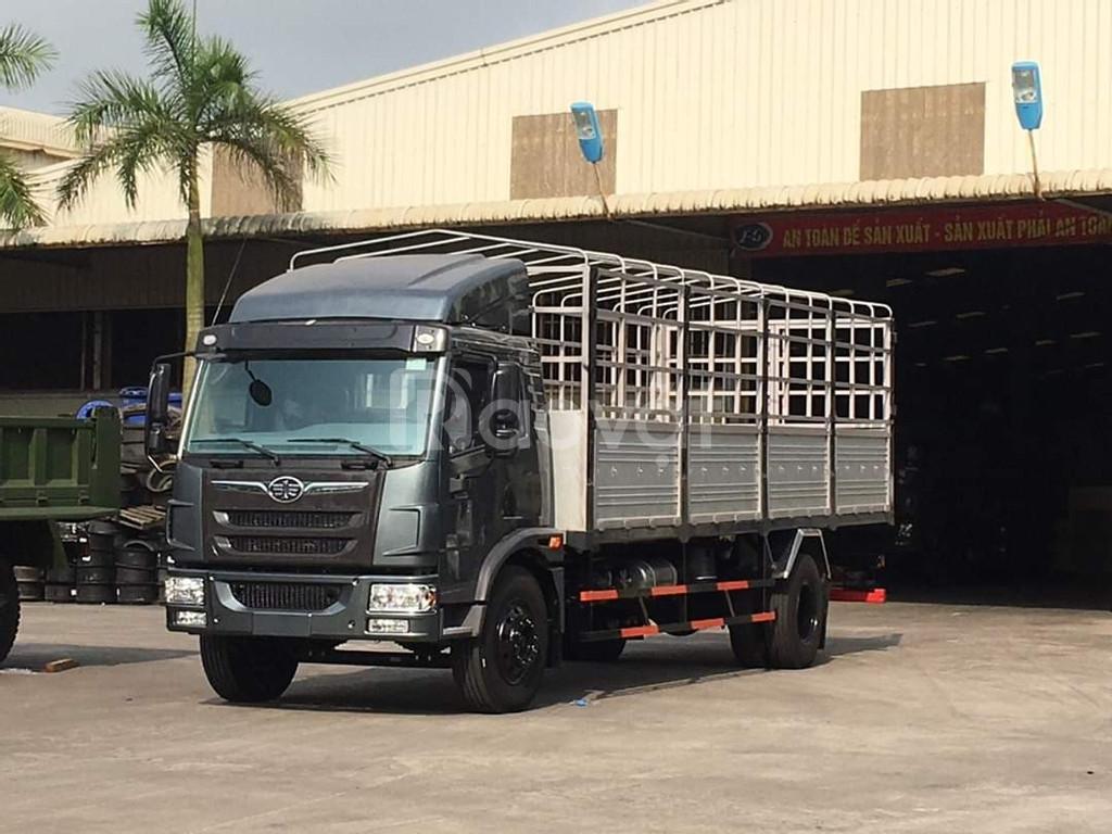 Xe tải faw 8 tấn thùng 8m chở hàng nhẹ, cồng kềnh đời 2020