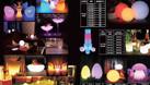 Bàn ghế led chiếu sáng nhiều màu (ảnh 6)