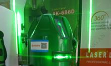 Máy cân mực laser 5 tia xanh Akuza AK-686D