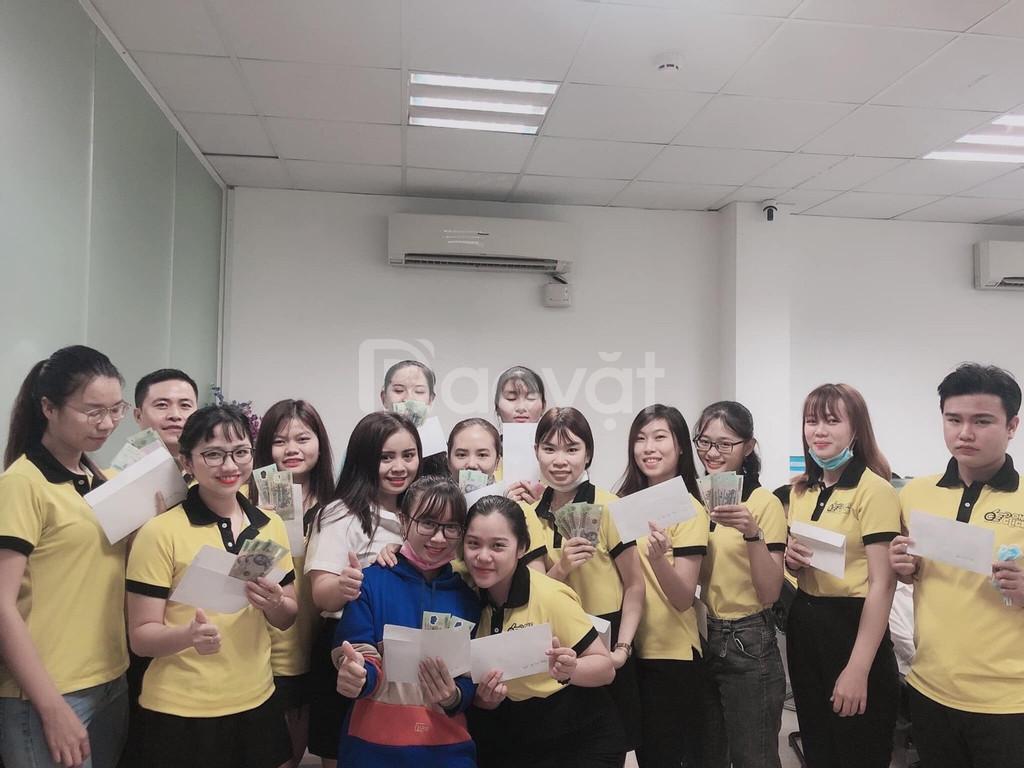 Tuyển gấp nhân viên telesale - Hồ Chí Minh