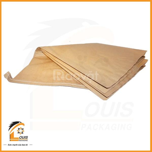 Bao giấy Kraft - Bao Kraft ghép PP dệt (ảnh 1)