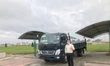 Xe tải Thaco Ollin500 gắn bửng nâng hạ tải 7 tấn