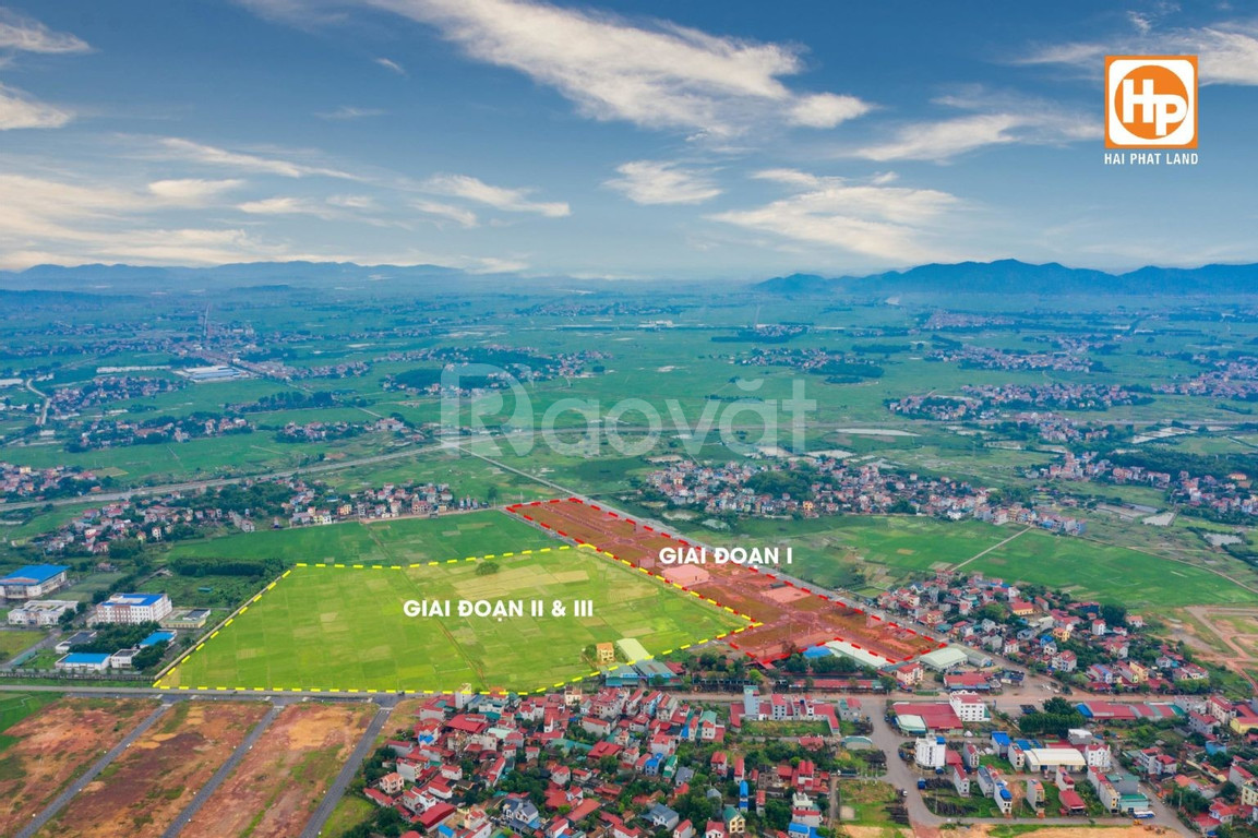 Đất nền dự án KĐT Dĩnh Trì, TP Bắc Giang (ảnh 1)