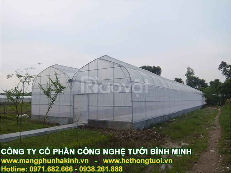 Nhà lưới trên sân thượng, nhà lưới mini, lưới chắn côn trùng