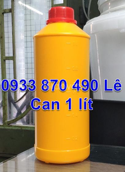 Can nhựa 5 lít, 4 lít