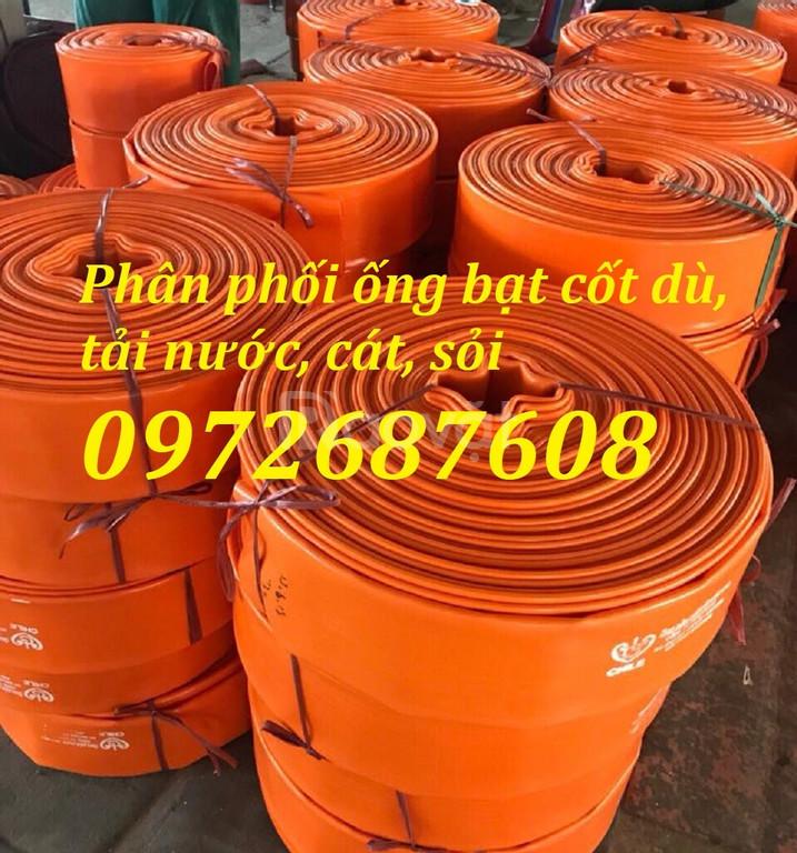 Cung cấp ống dẫn nước vải bạt cốt dù, ống bạt mềm PVC tại Hồ Chí Minh (ảnh 5)